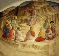 The Sermon on the Mount, by Fra Angelico (1387 – 1455)