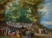 The Sermon on the Mount Artist/Maker: Jan Brueghel the Elder (Flemish, 1568 - 1625)