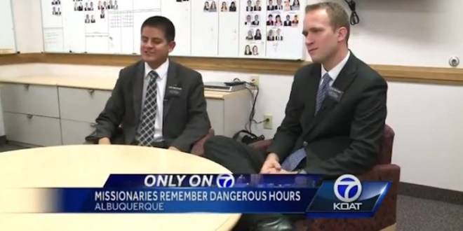 LDS Missionaries Held Captive in New Mexico