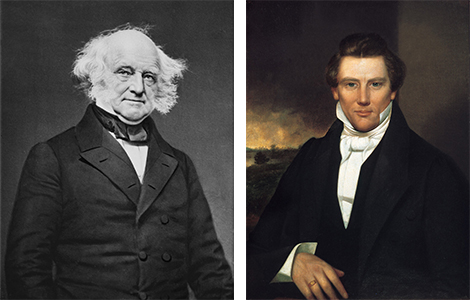 Presidents Day: Joseph Smith and Martin Van Buren