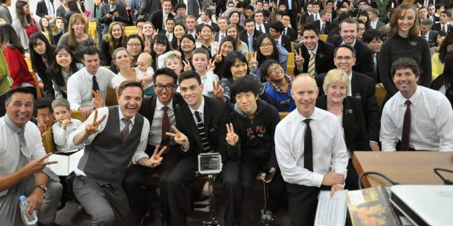The Piano Guys Inspire Members, Missionaries in Seoul