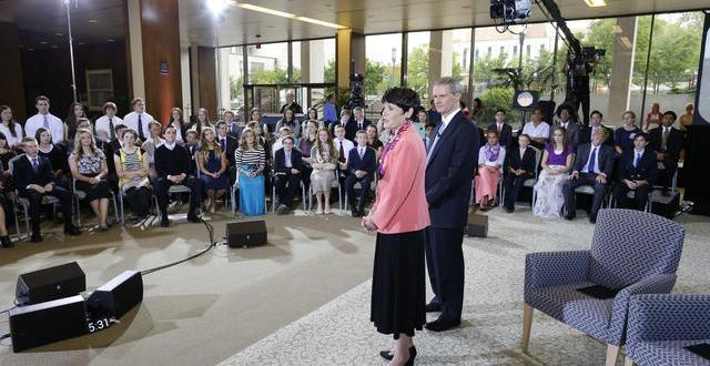 Face2Face With Elder David A. Bednar and His Wife, Susan