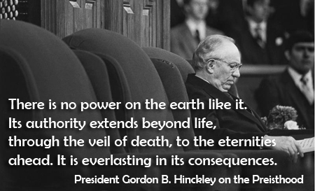 There Is No Power on The Earth Like It.