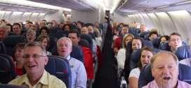 Alex Boyé and Tabernacle Choir Sing on an Airplane