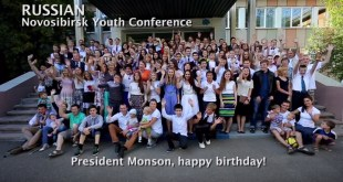 Members Around the World Wish President Monson Happy Birthday