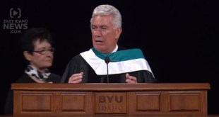 "Watch President Uchtdorf's Wife Fix His ""Wardrobe Malfunction"""