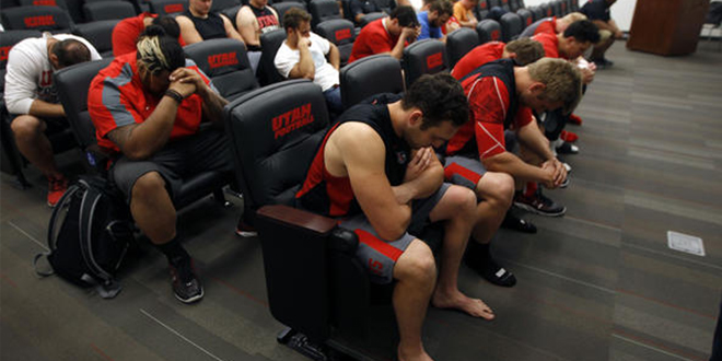 Washington, D.C., group requests that Utah football coaches stop teaching religion classes