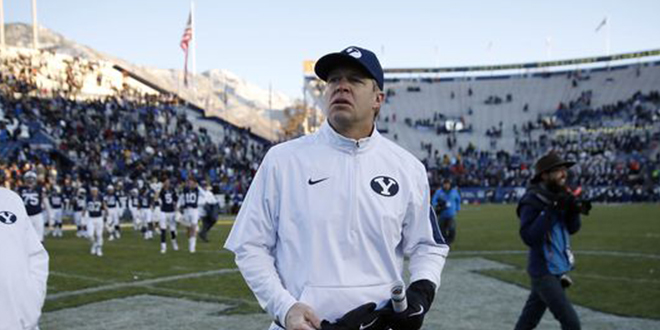 BYU's Bronco Mendenhall Hired as Coach for Virginia