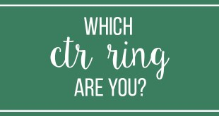 Which CTR Ring Are You?