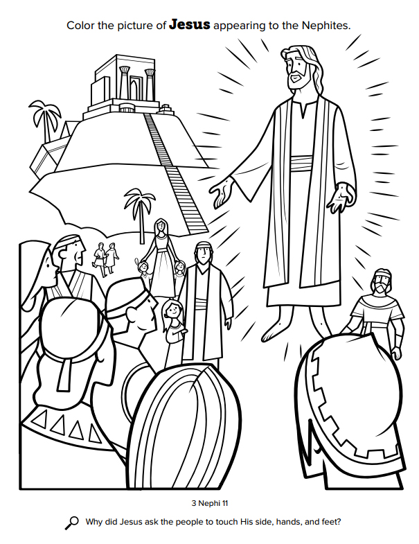 Church Releases New Coloring Book for Kids, FREE Pages