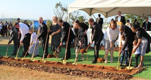 Ground Broken for Durban South Africa Temple