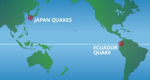 UPDATE: Mormon Relief Efforts in Ecuador, Japan After Earthquakes