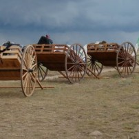 Pioneer Trek activities are hosted on the Sooner Cattle Company ranch.