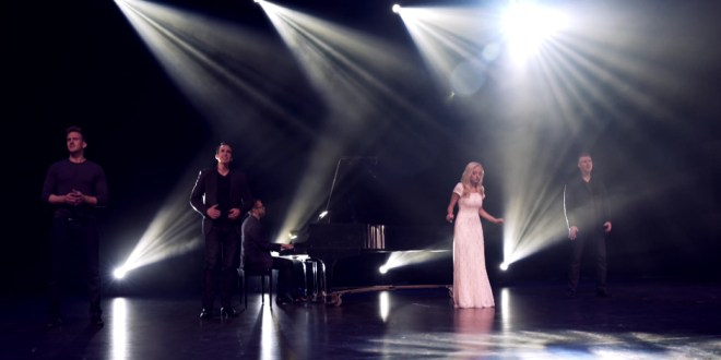 "GENTRI, Madilyn Paige Sing Medley of ""Say Something"" and ""Angel"" to Help Stop Child Sex Slavery"