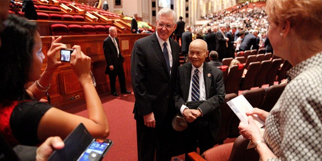 The Best Images and Tweets from General Conference So Far