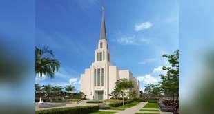 Groundbreaking Announced for the Rio de Janeiro Brazil Temple