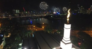 Watch Fun Firework Footage from LDS Brisbane Temple
