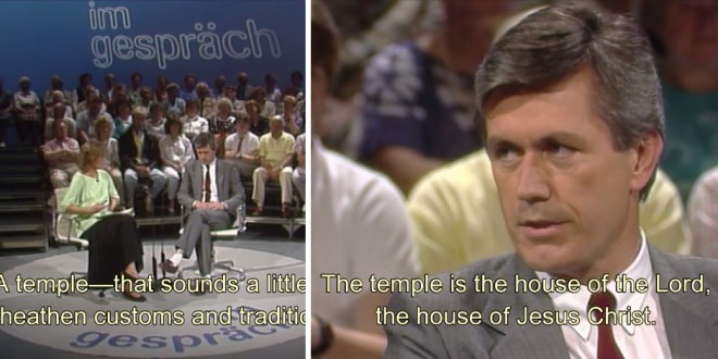30 Years Ago, President Uchtdorf Gave This Epic Television Interview