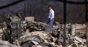 Mormon Leaders Visit Fire Evacuees in Northern California