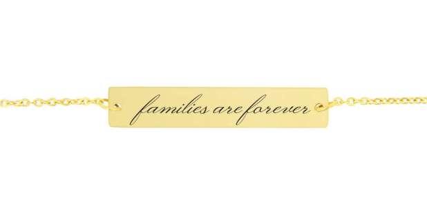Families Are Forever Bracelet