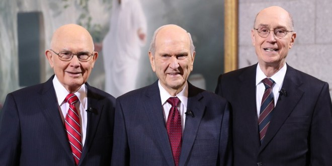 Russell M. Nelson Named 17th Mormon Church President