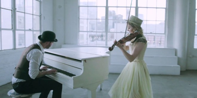 """Watch Lindsey Stirling's Sweet """"The Greatest Showman"""" Medley"""