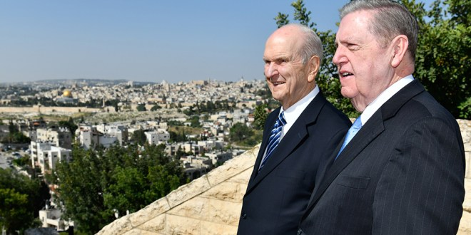 LDS Prophet Visits the Holy Land, Leaves Early Due to Tension