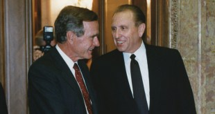 First Presidency Honors the Life of US President George H. W. Bush
