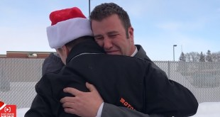 Widowed Father of 7, Seminary Teacher, Receives Emotional Secret Santa Surprise