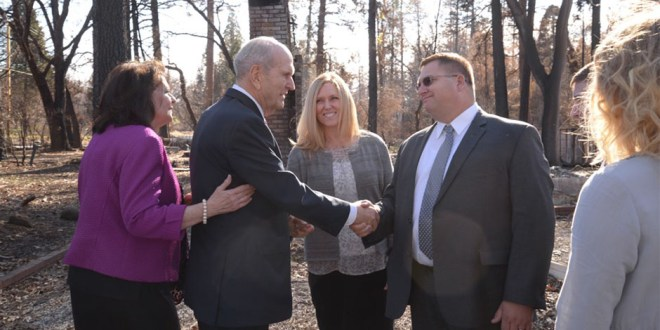 President Nelson Ministers to Wildfire Victims After Personal Tragedy