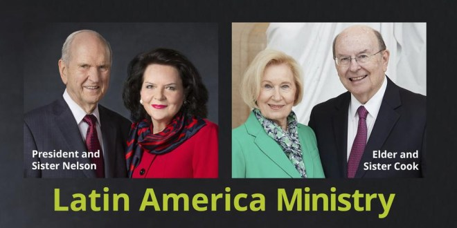 President Nelson to Visit 5 Latin American Countries
