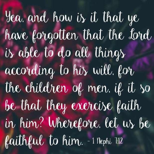 5 Inspiring Book of Mormon Scriptures on Faith 1