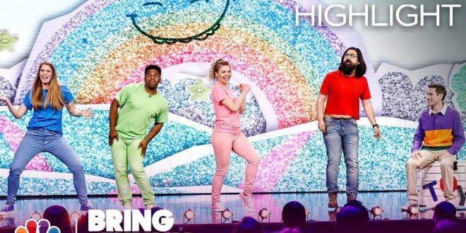 """Watch JK! Studios' First Sketch on NBC's """"Bring the Funny"""""""