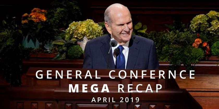 here's your april  general conference mega recap  lds