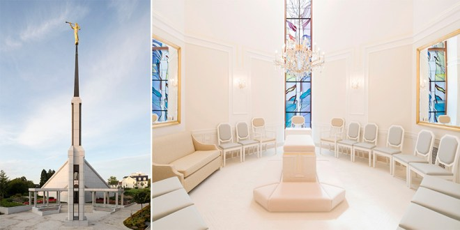 Here's Your First Look Inside the Renovated Frankfurt Germany Temple