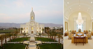 Here's Your First Look Inside the Arequipa Peru Temple