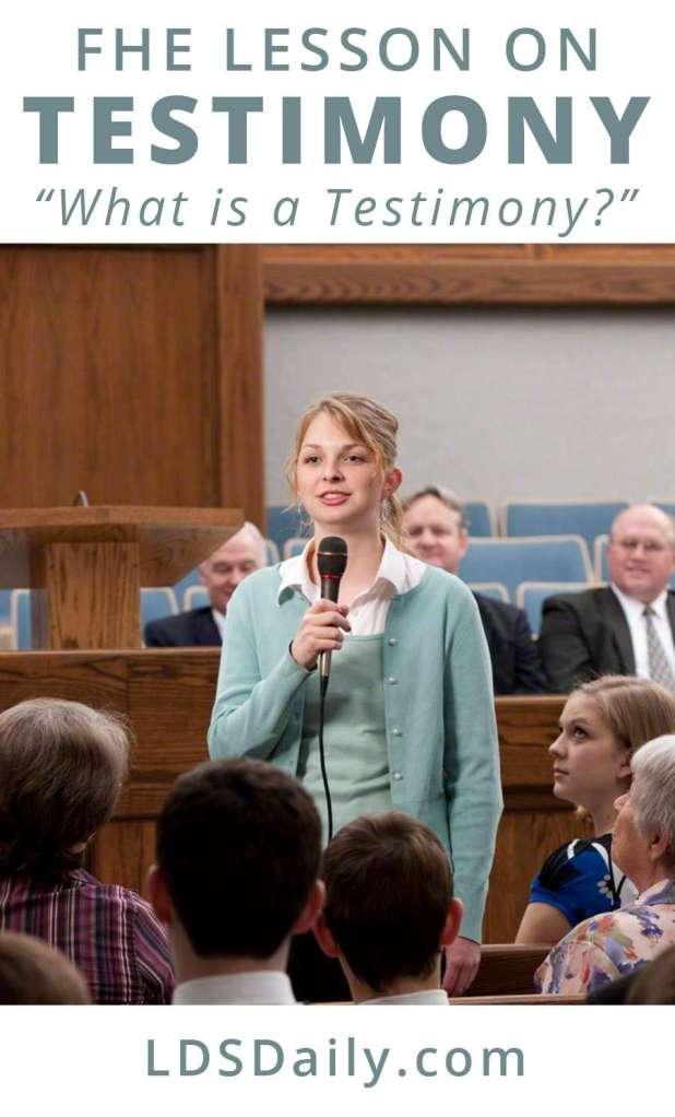 fhe-lesson-on-testimony-what-is-a-testimony