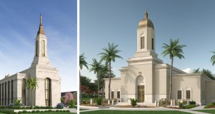 Cobán Guatemala and Okinawa Japan Temple Renderings Released