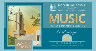 """Tabernacle Choir to Celebrate 90 Years of """"Music & the Spoken Word"""""""