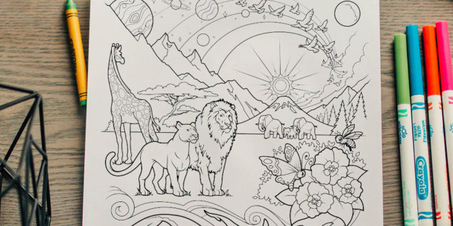 here's your free come follow me coloring page  july 612