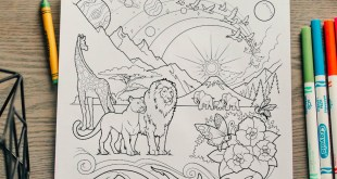 Here's Your Free Come, Follow Me Coloring Page - July 6-12, 2020