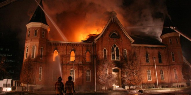 Beauty for Ashes: The Provo Tabernacle Fire 10 Years Later