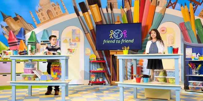 Children Learn About Jesus & Making Differences in Friend to Friend Broadcast