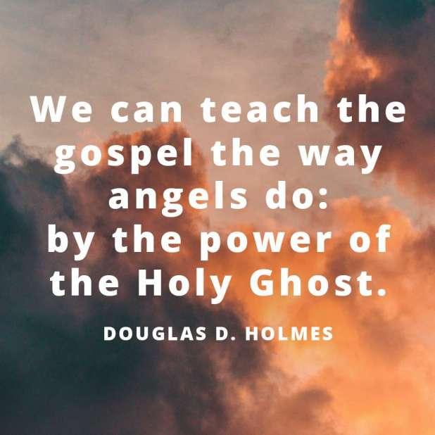LDS Quotes About Angels | Douglas D. Holmes