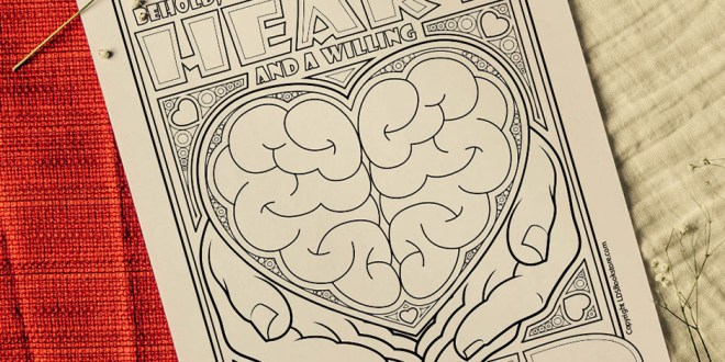 Here's Your Free Come, Follow Me Coloring Page – June 14-20