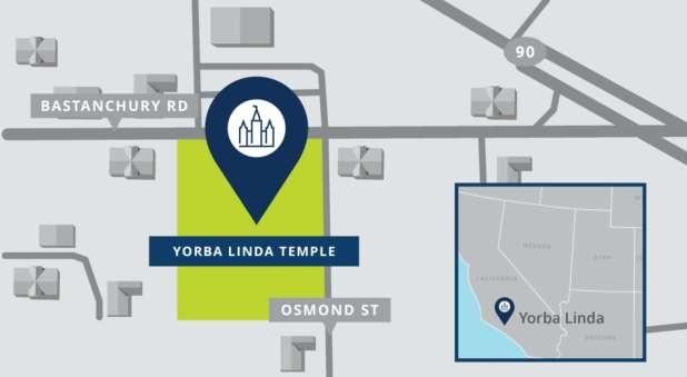 Yorba Linda Temple Location