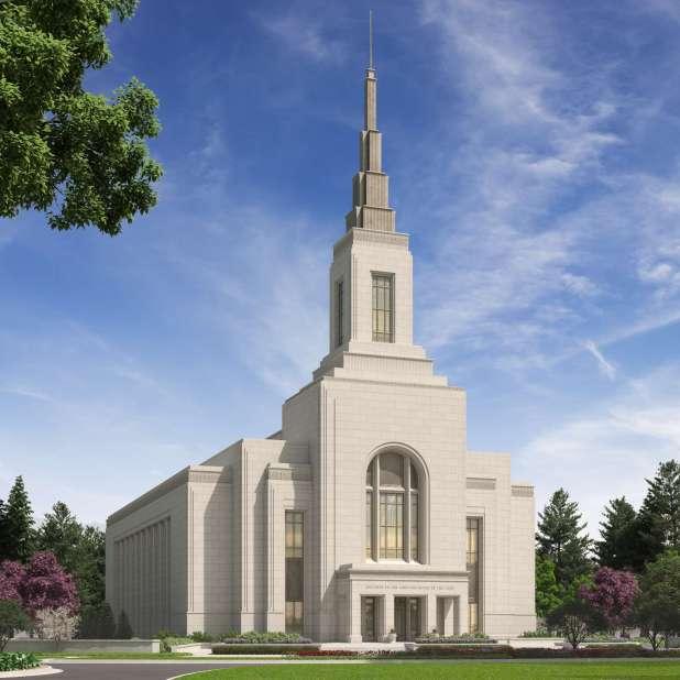 Burley Idaho Temple