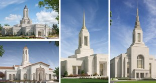 Renderings Released for Four Temples in Western US