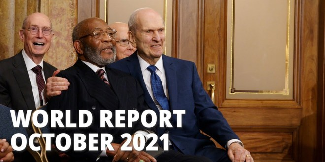 Watch the October 2021 Edition of the World Report