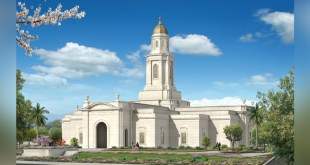Exterior Rendering Released for Bacolod Philippines Temple